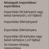 Névjegy exportálás (Android) - kiemelt kép